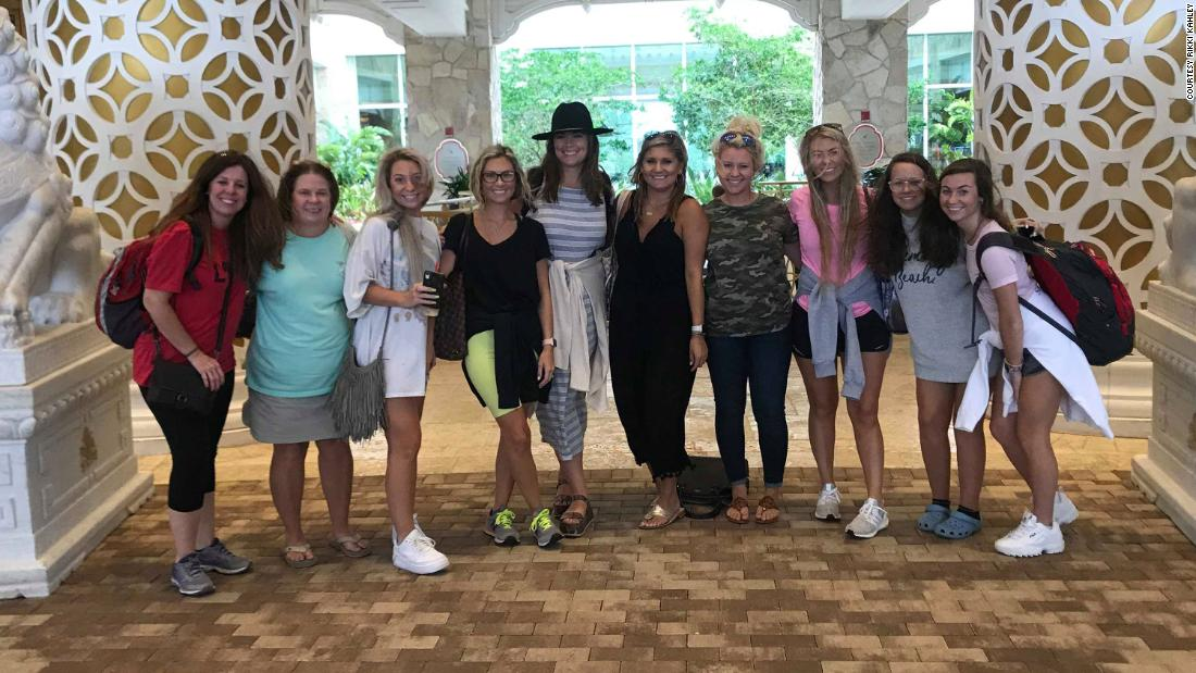 How a bachelorette trip turned into a relief mission