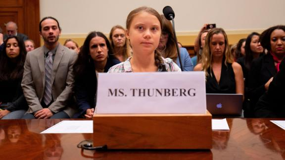 Greta Thunberg spoke before the House Foreign Affairs Committee, Europe, Eurasia, Energy and the Environment Subcommittee, and the House Select Committee on the Climate Crisis.