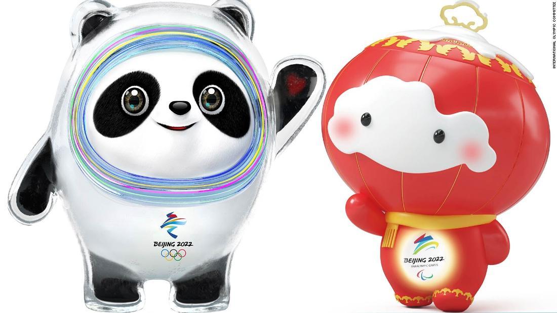 Beijing unveils new 'ice' panda mascot to promote 2022 ...
