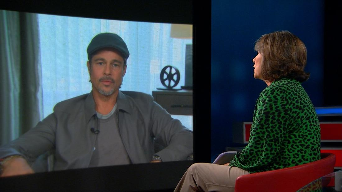 Brad Pitt opens up about fathers, sons and confronting Harvey Weinstein