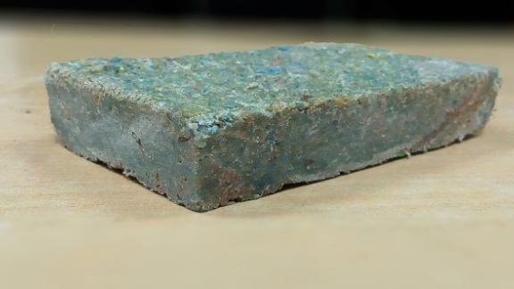 A Plastiqube brick.