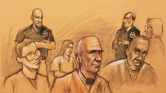 Airline mechanic Abdul-Majeed Marouf Ahmed Alani in a Florida federal court on Wednesday, September 18.