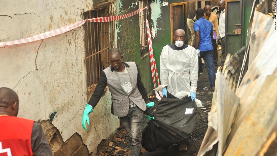 26 children die as fire breaks out in Liberia boarding school