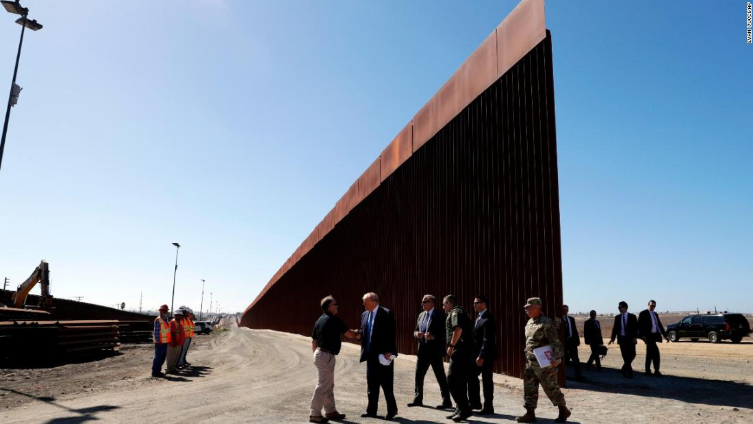 Interior Department to transfer 560 acres of federal land to Army for border wall construction