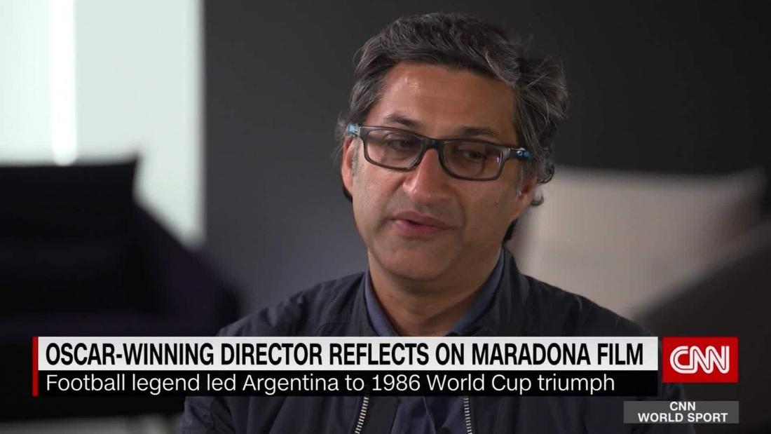 Oscar-winning director Asif Kapadia discusses Diego Maradona
