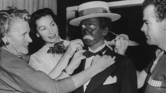 The first minstrel shows depicted black people as lazy, ignorant, cowardly or hypersexual.