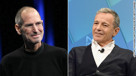 Bob Iger thinks Apple and Disney might have combined if Steve Jobs were still alive