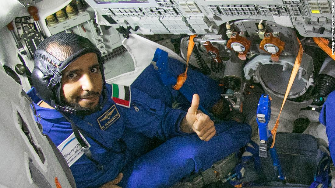 "In 2019, the UAE sent its<a href=""https://edition.cnn.com/2019/09/24/middleeast/dubai-first-emirati-in-space-scn/index.html"" target=""_blank""> first astronaut</a> to the International Space Station. Hazzaa AlMansoori, pictured here during simulation training in the Russian Soyuz spacecraft that took him to the ISS, spent eight days on board."