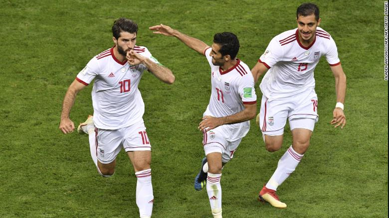 ทีมชาติอิหร่านมีคุณสมบัติสำหรับฟุตบอลโลกปี 2018 ในรัสเซีย  หวังว่าจะทำให้กาตาร์ปี 2022
