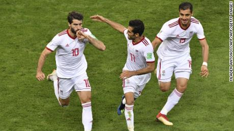 Iran's national team qualified for the 2018 World Cup in Russia. It is hoping to make Qatar 2022.