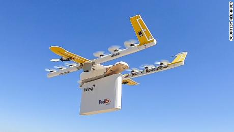 Alphabet's Wing to make Walgreens' drone deliveries in small Virginia town