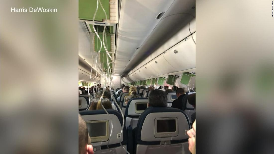 Panic ensues when plane unexpectedly plunges