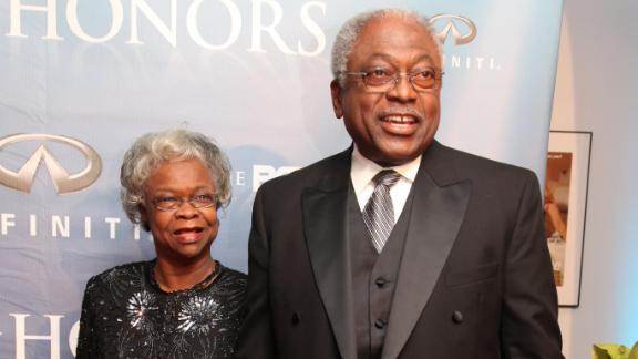 In this January 2009 file photo, Emily Clyburn and Congressman James E. Clyburn attend BET HONORS Award Ceremony Arrivals at Warner Theater.