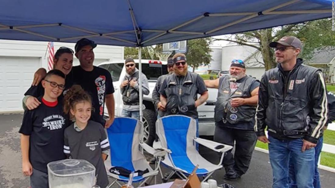 A biker group's kindness