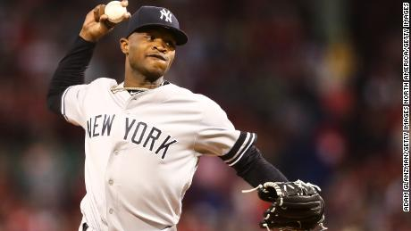 info for 2fa76 f554e NY Yankees pitcher Domingo Germán placed on administrative ...
