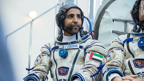 Hazzaa AlMansoori, a former Emirati F-16 aircraft pilot, will become the first UAE national in space aboard a Russian Soyuz MS-15 spacecraft.