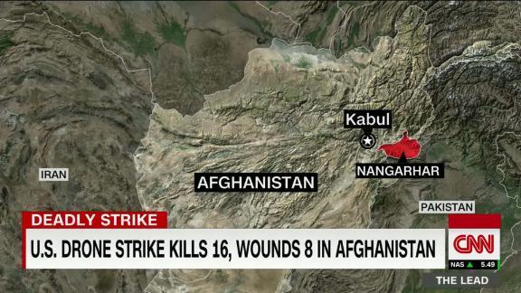 Image for US drone strike kills 16 civilians in Afghanistan, governor's spokesman says