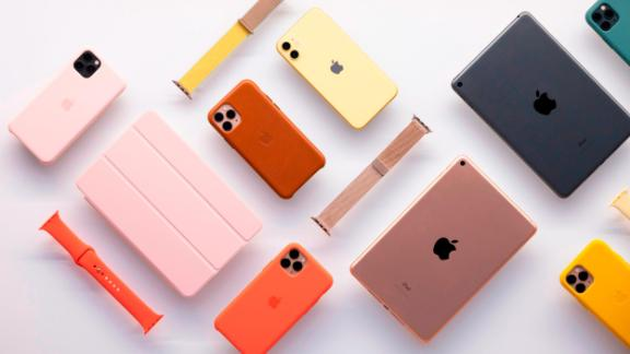 The iPhone 11 cases come in a variety of colors.