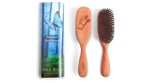 Desert Breeze Wooden Hairbrush
