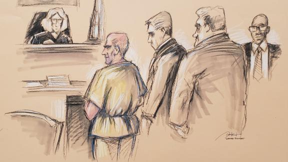 Ahmed Alani in federal court on Friday.