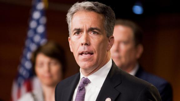 In this 2011 file photo, Rep. Joe Walsh, R-Ill., speaks at a news conference with other House republicans in the Capitol Visitor Center.