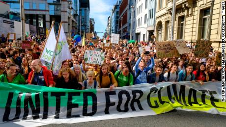 Children worldwide unite in global climate strike