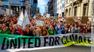 Children worldwide unite in global climate strike
