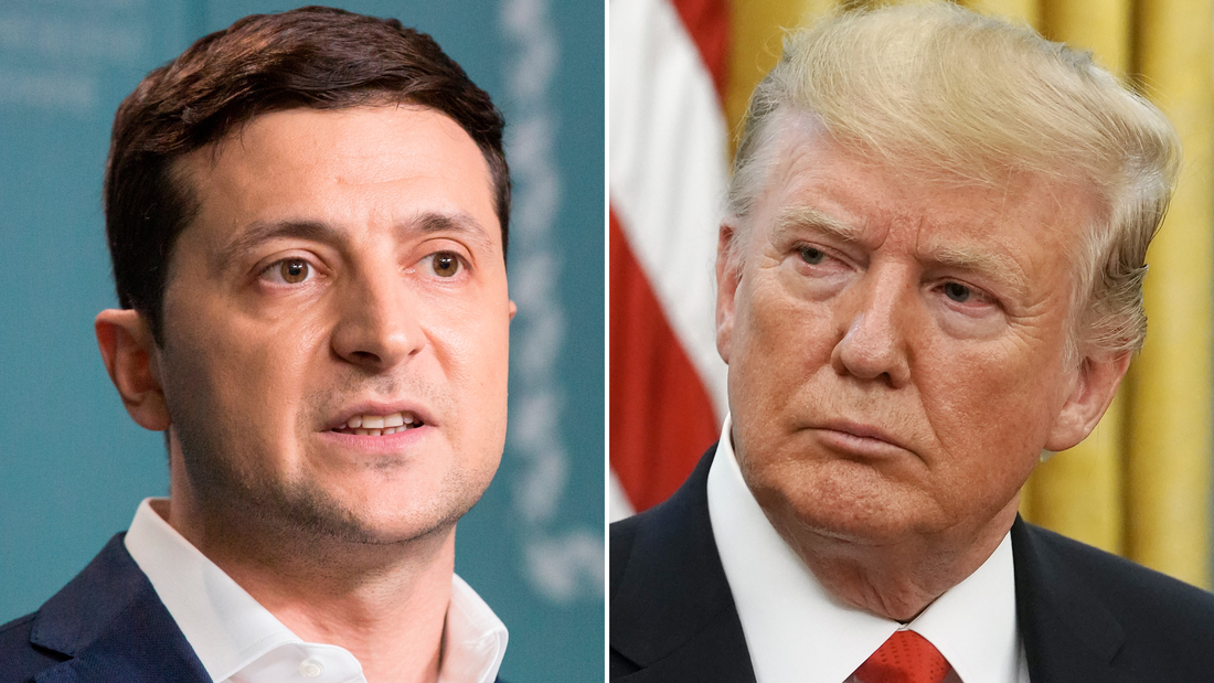 Zelensky could win big by gambling on Trump