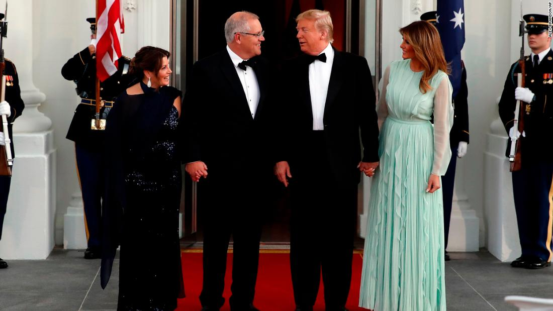 Trump hosts second state dinner