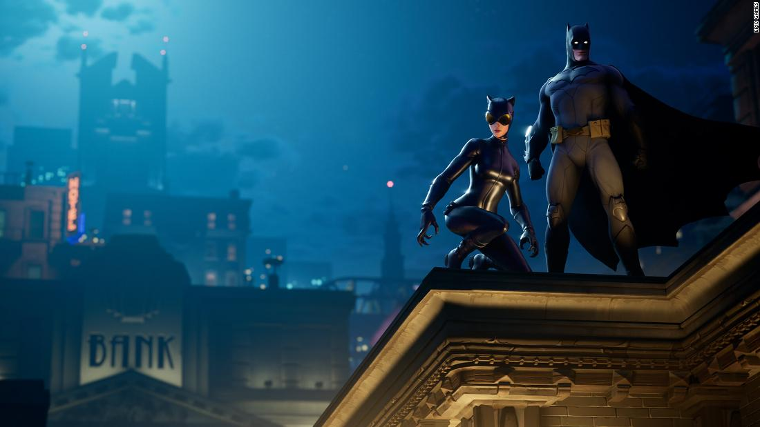 The Fortnite Batman crossover is here