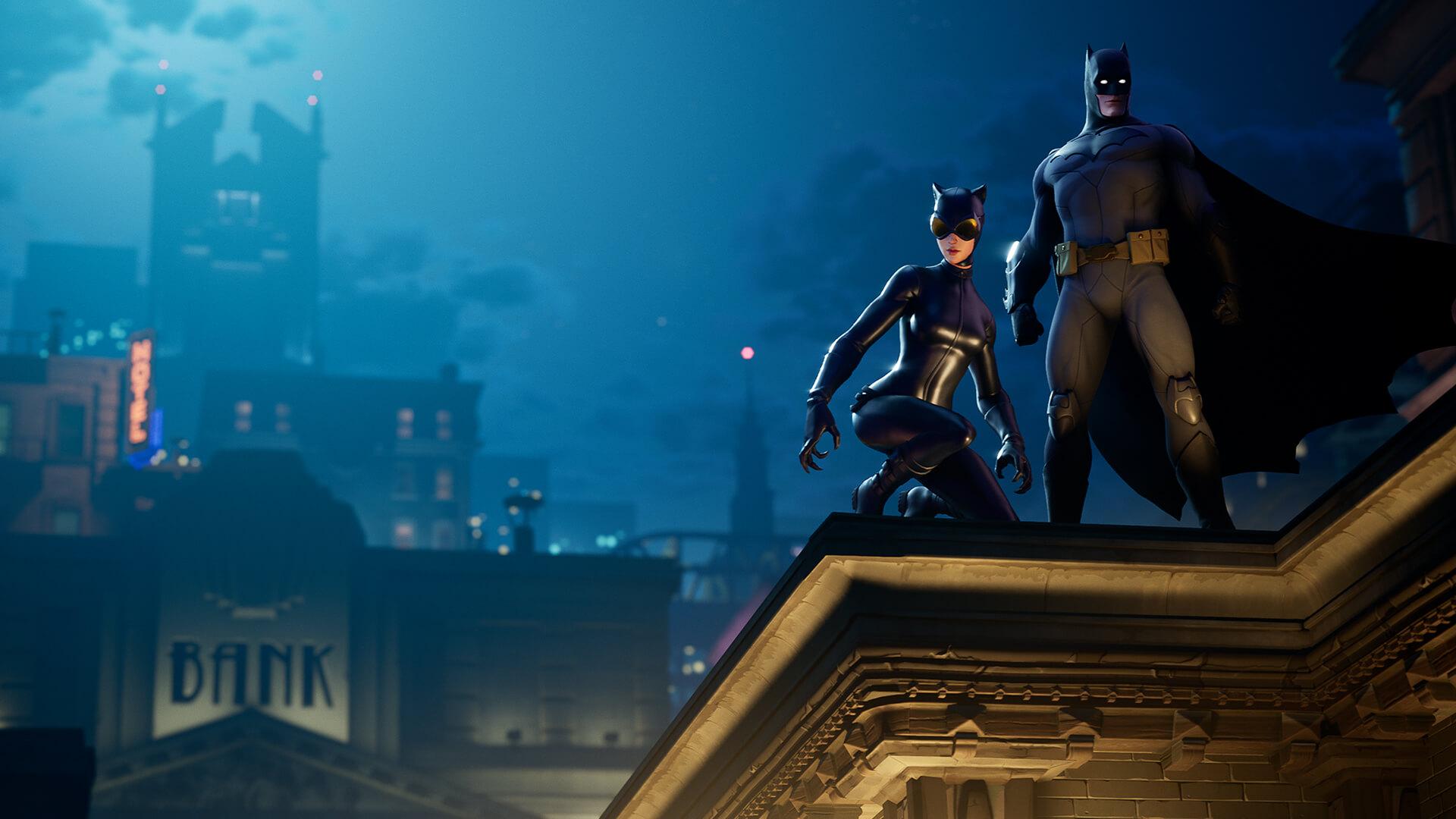 Albert Fortnite Videos The Fortnite Batman Crossover Is Here Cnn