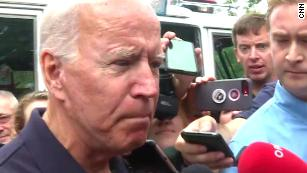 Biden scolds reporter who asks about his son's business