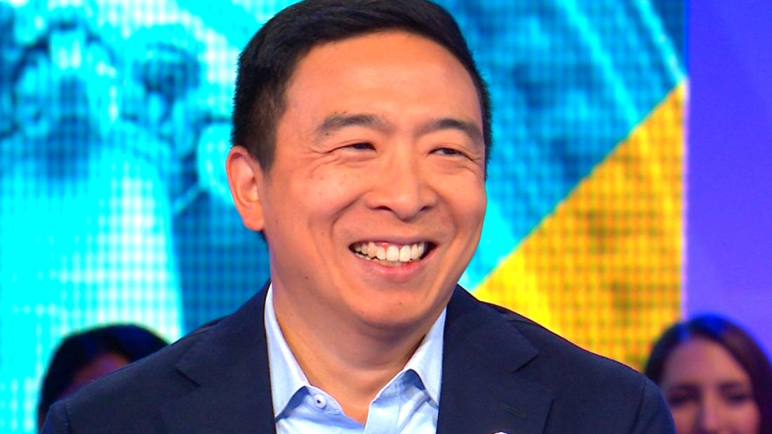 Andrew Yang still says SNL should not have fired comedian for racist comments