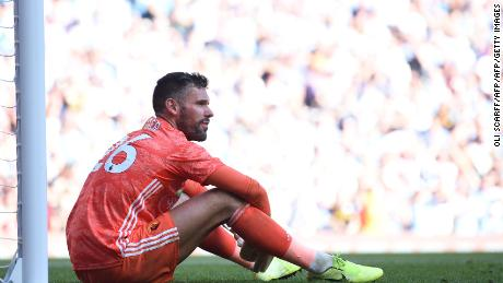 Saturday proved a tough day af the office for Watford goalkeeper Ben Foster.