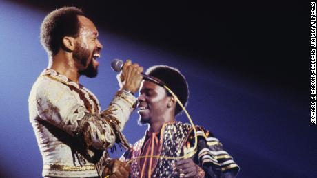 UNITED STATES - JANUARY 01:  Photo of EARTH WIND & FIRE  (Photo by Richard E. Aaron/Redferns)