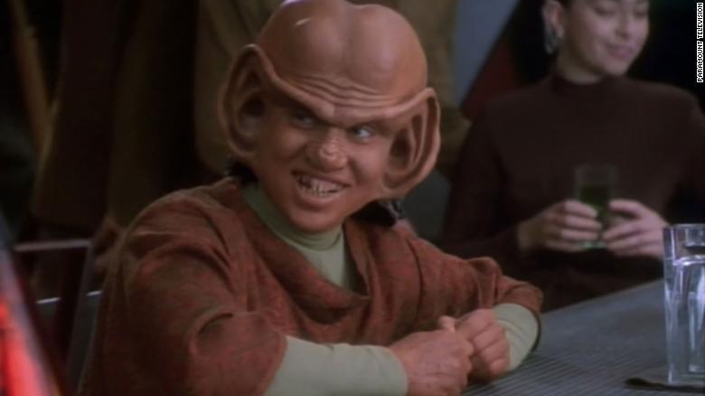 """Aron Eisenberg portrays Nog in """"Star Trek: Deep Space Nine."""""""