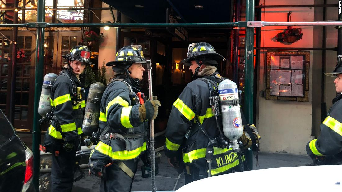 FDNY responds to fire in Times Square