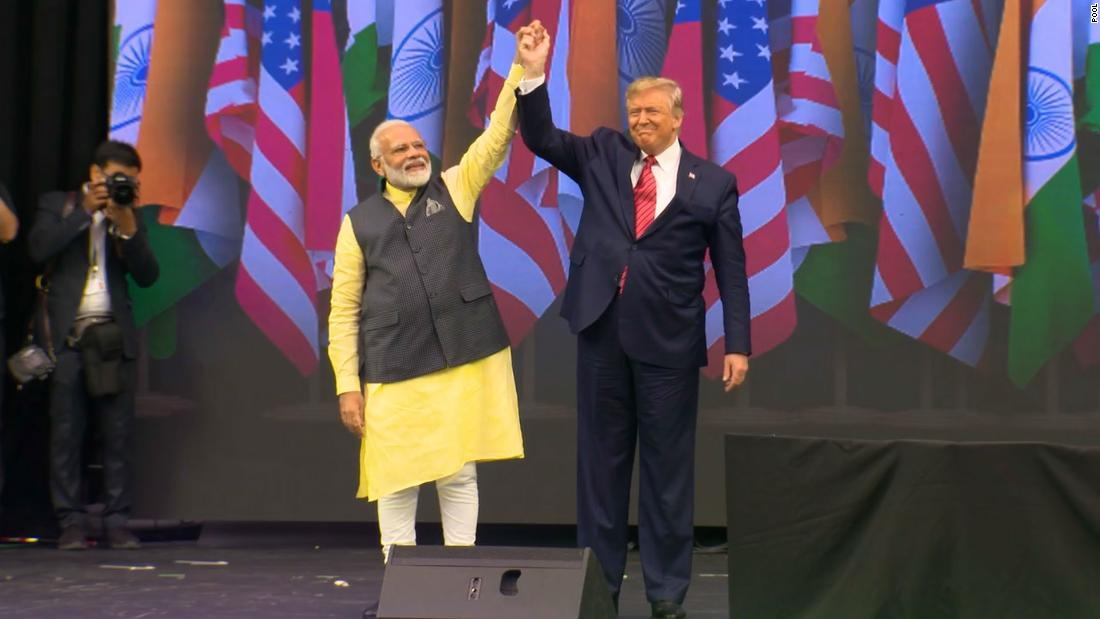 Trump and Modi share stage at 'Howdy, Modi!' rally in Texas