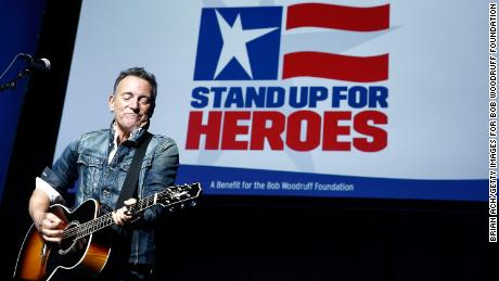 Springsteen will be appearing at a Stand Up For Heroes event in 2018 to benefit veterans at Madison Square Garden in New York City.