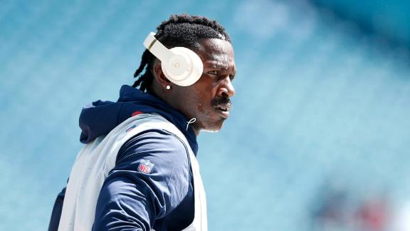 Antonio Brown has not played in the NFL since September.