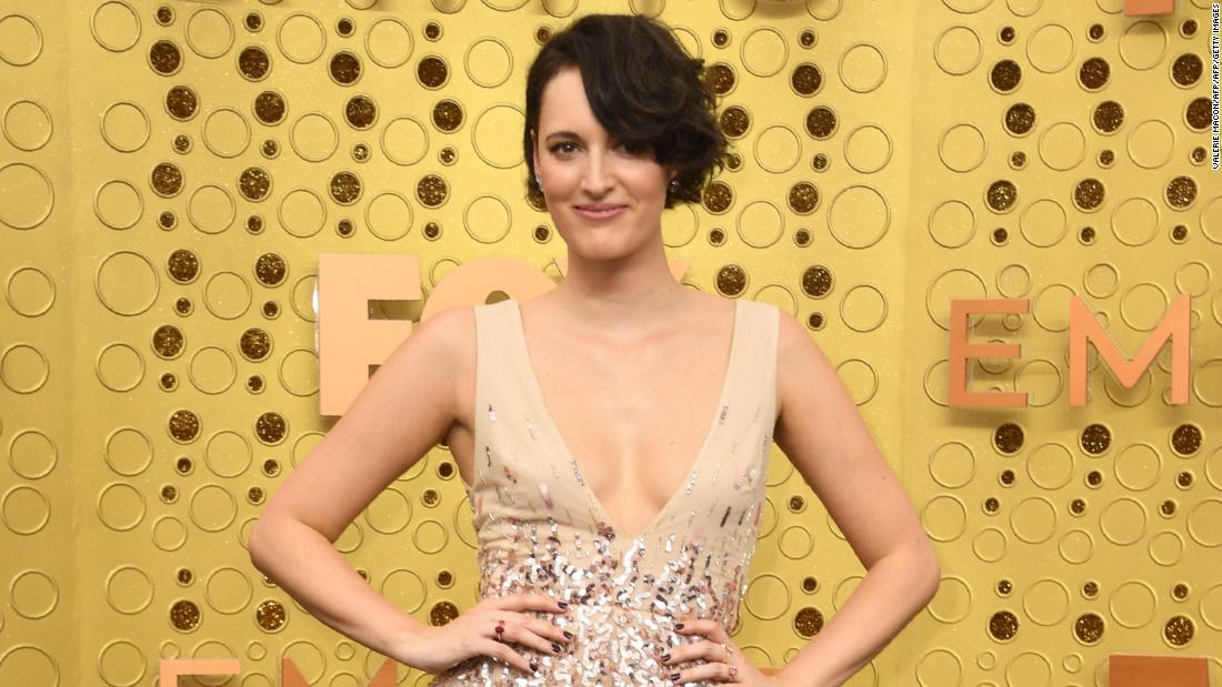'Fleabag' star steals the show at the Emmys