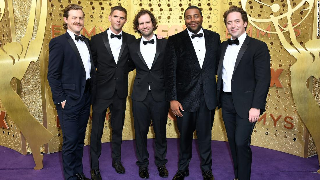 "Left to right: ""SNL's"" Alex Moffat, Mikey Day, Kyle Mooney, Kenan Thompson, and Beck Bennett"