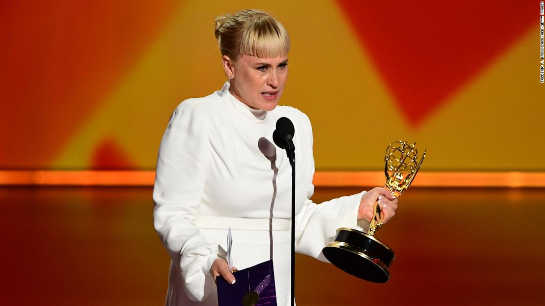 Patricia Arquette speaks out for transgender rights