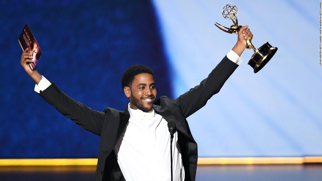 Sehen, wer nach Hause nahm einen Emmy Award
