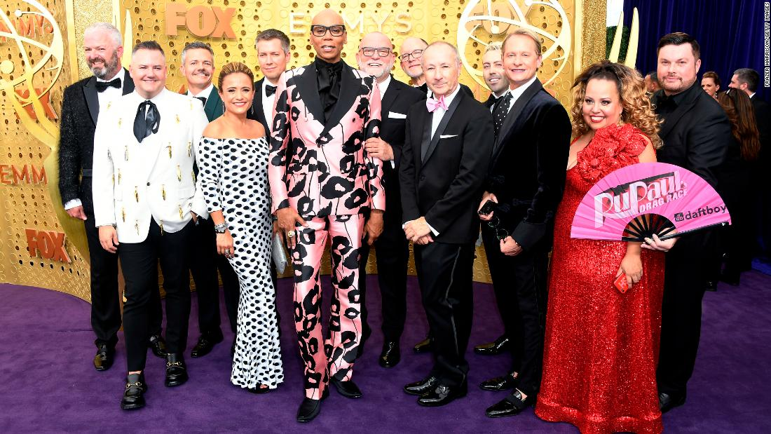 The cast and crew of 'RuPaul's Drag Race'