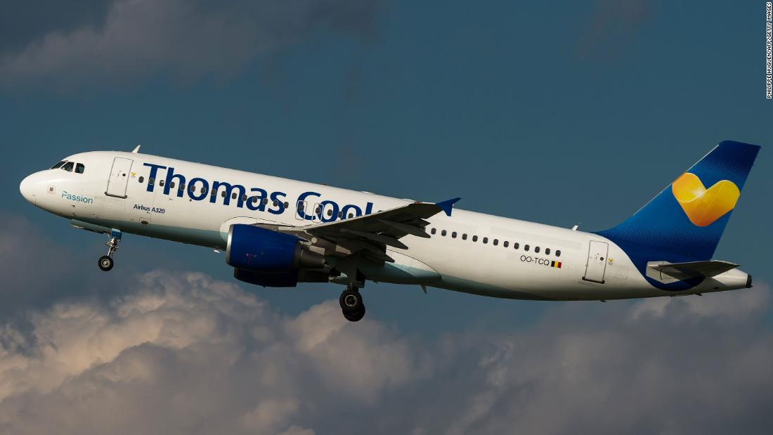 Thomas Cook, the 178-year-old British company, collapsed Sunday night, potentially stranding hundreds of thousands of travelers