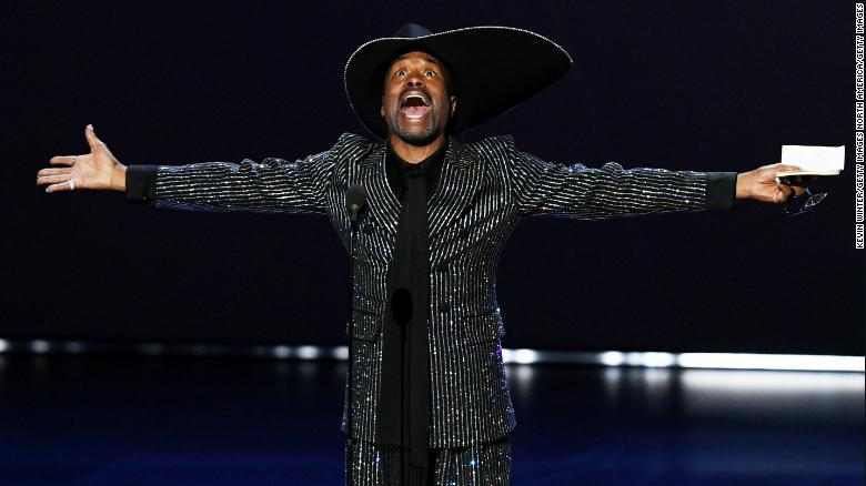 Billy Porter accepts the outstanding lead actor in a drama series award for 'Pose.' (Photo by Kevin Winter/Getty Images)