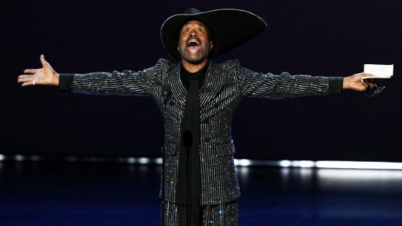 Billy Porter accepts the Outstanding Lead Actor in a Drama Series award for 'Pose' onstage during the 71st Emmy Awards at Microsoft Theater on September 22, 2019 in Los Angeles, California. (Photo by Kevin Winter/Getty Images)