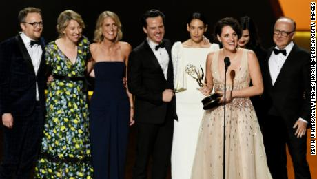 'Fleabag' and 'Game of Thrones' claim top Emmy prizes on night of old and new
