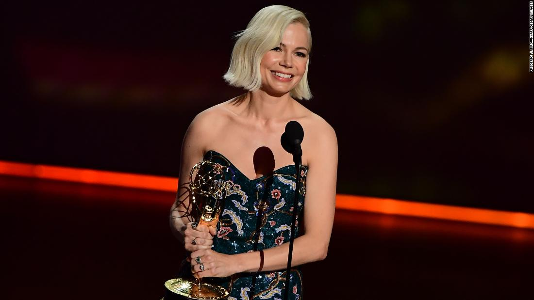Read Michelle Williams' powerful speech